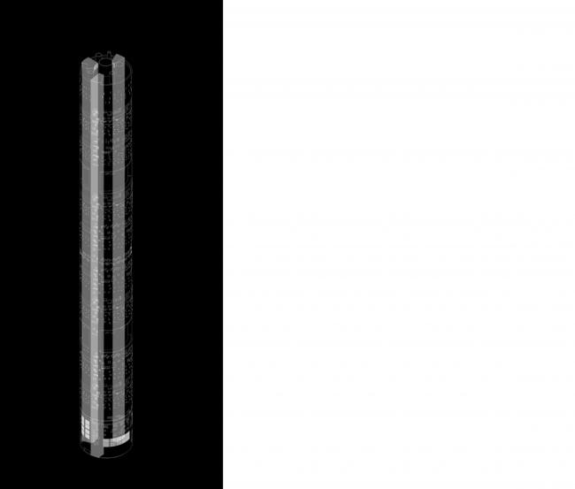 Дипломная работа Дарьи Зайцевой «Городская тюрьма». Руководители: Евгений Асс, Кирилл Асс. Схема © МАРШ, 2016