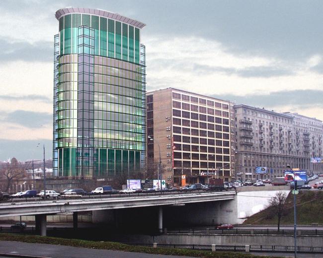 Реконструкция здания «Лукойл», Яузская наб. © Архитектурное бюро Асадова