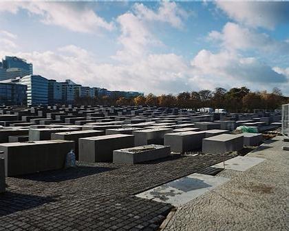Мемориал Жертвам Холокоста. П.Эйзенман(Айзенман)