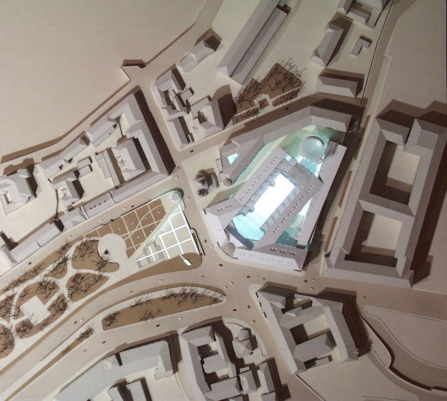 Реконструкция Дома металлургов, Славянская пл. © Архитектурное бюро Асадова