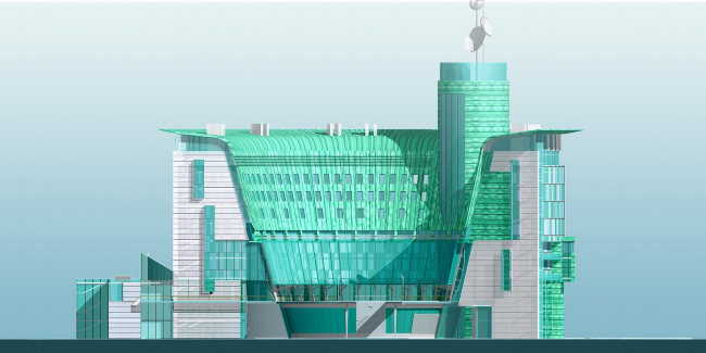Юго-западный банк Сбербанка РФ, г. Ростов-на-Дону © Архитектурное бюро Асадова