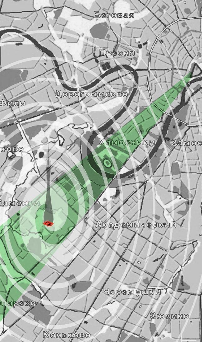 Телеинформационный комплекс РФ © Архитектурное бюро Асадова