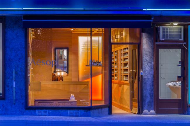 Магазин Aesop Homansbyen в Осло © Aesop / Stephen Citrone
