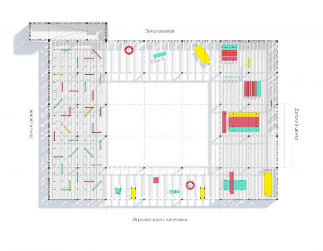 План павильона в микрорайоне Центральный. Иллюстрация предоставлена участниками проекта «Арт-дворы»