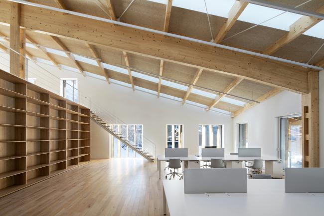 Офис в предгорье Монбланa © Michel Denance