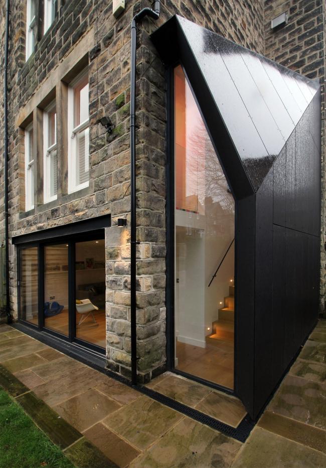 Дом Contemporary Lean-to в Харрогейте, Йоркшир.  Doma Architects. Фото © Ruth Donnelly