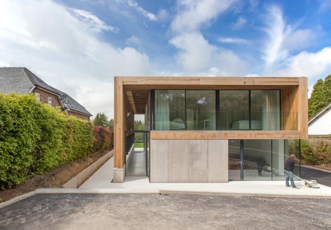 Дом Edge Hill, Ньюкасл-апон-Тайн.  Sutherland Hussey Harris. Фото © Sutherland Hussey Harris Architects