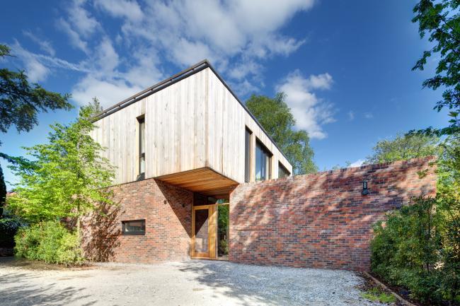 Частный дом 1109 в Чешире.  GA Studio Architects. Фото © Charlie Coleman