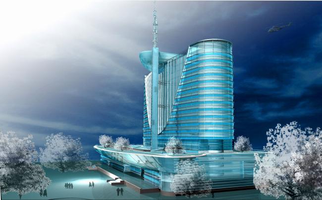 Гостинично-деловой центр «Москва», г. Астана © Архитектурное бюро Асадова