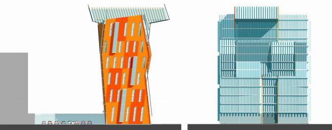 Бизнес-центр, г. Шымкент © Архитектурное бюро Асадова