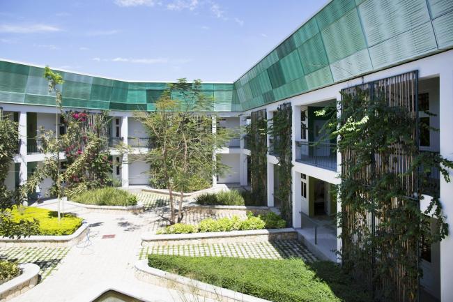 Туберкулезный госпиталь GHESKIO – Павильон Людвига © MASS Design Group