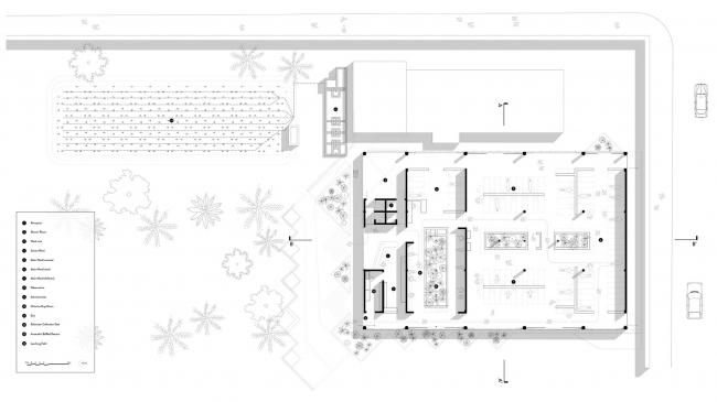 Центр лечения холеры GHESKIO © MASS Design Group