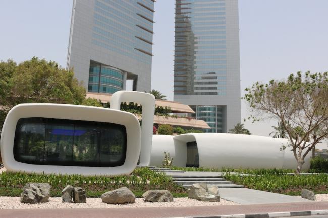 «Офис будущего» в Дубае. Фотография предоставлена компанией АББ (АВВ)