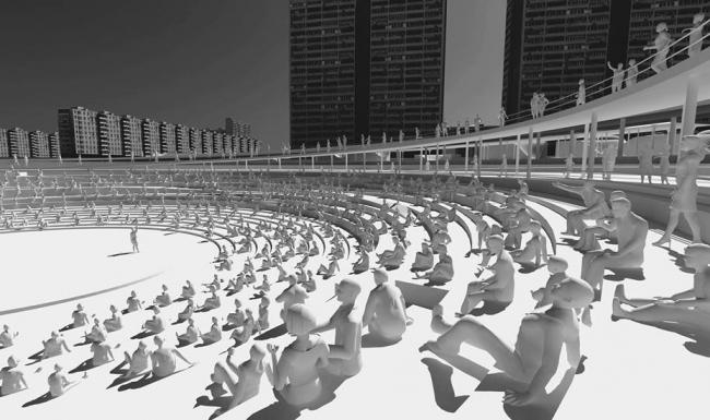Пникс в Ясенево. Дипломный проект Анны Гоги. Студия архитектурного бюро «Меганом». МАРХИ, 2016