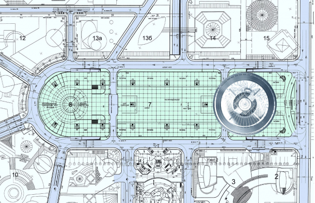 Гостиничный комплекс в составе центрального ядра «Москва-Сити»
