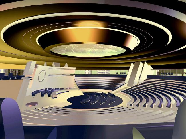 Комплекс центрального ядра «Москва-Сити» © Архитектурное бюро Асадова