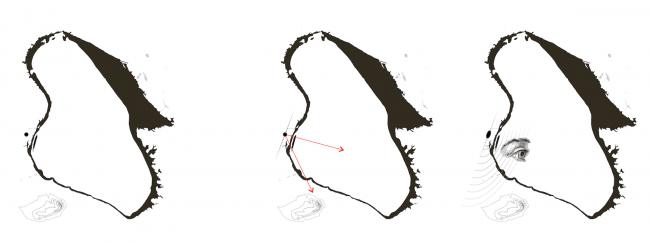 Дипломная работа Антона Тимофеева «Recreatio. Баскунчак». Руководители: Евгений Асс, Кирилл Асс. Генезис формы © МАРШ, 2016