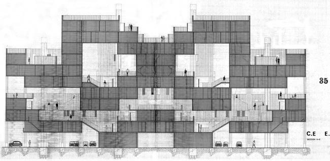 City in the Space, «Космический город». 1970 © Ricardo Bofill Taller Arquitectura