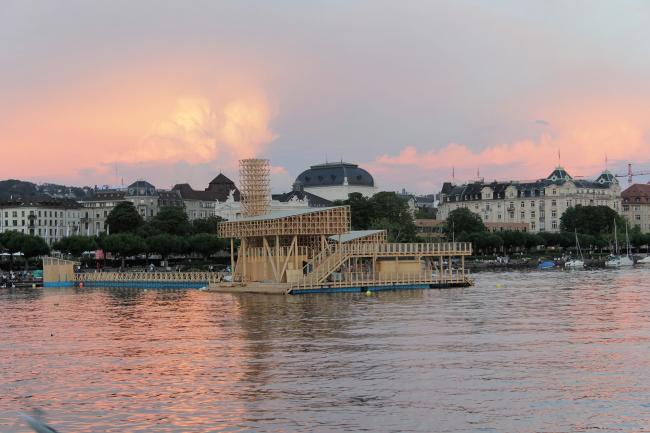 «Павильон размышлений» для биеннале современного искусства «Манифеста 11» / Фото: Wolfgang Traeger © Manifesta 11