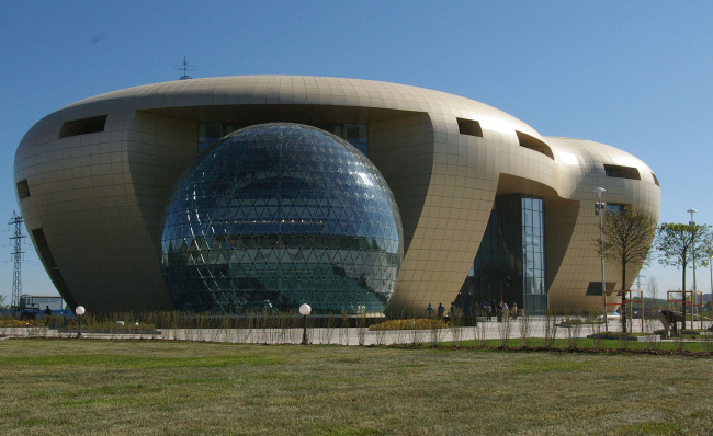Центральный офис ЗАО «Балтийская жемчужина». Реализация, 2007 © Архитектурная мастерская Цыцина