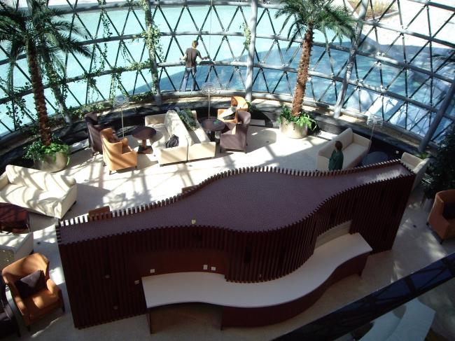 Центральный офис ЗАО «Балтийская жемчужина». Интерьер. Реализация, 2007 © Архитектурная мастерская Цыцина