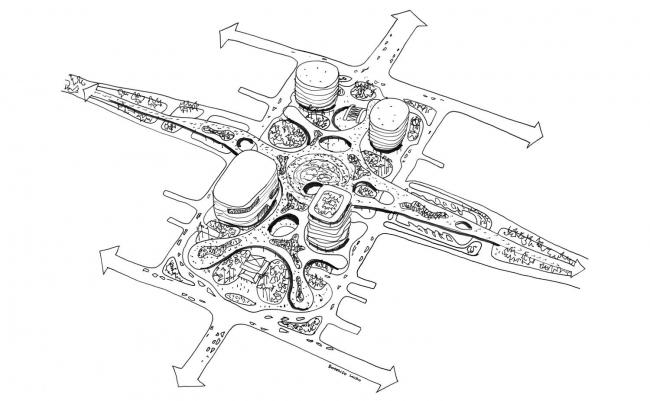 Транспортно-пересадочный узел в Гаосюне © Mecanoo