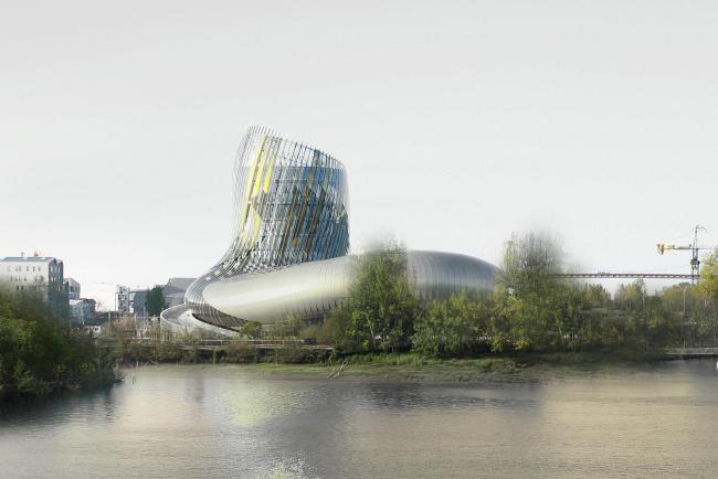 Центр La Cité du Vin © Delphine Isart