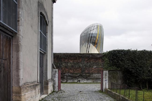 Центр La Cité du Vin © Patrick Tourneboeuf