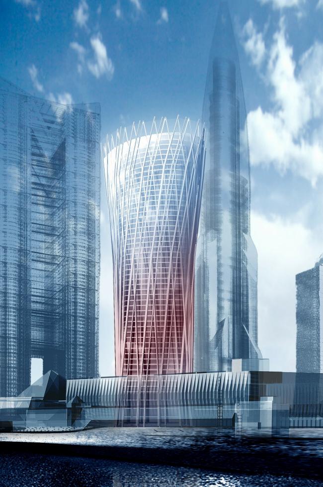 Деловой центр повышенной этажности, ММДЦ «Москва-Сити», участок 20