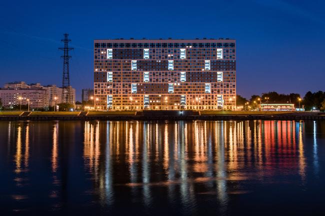 "Multifunctional housing project ""Megalit"". Construction, 2016 © Eugene Gerasimov and Partners"