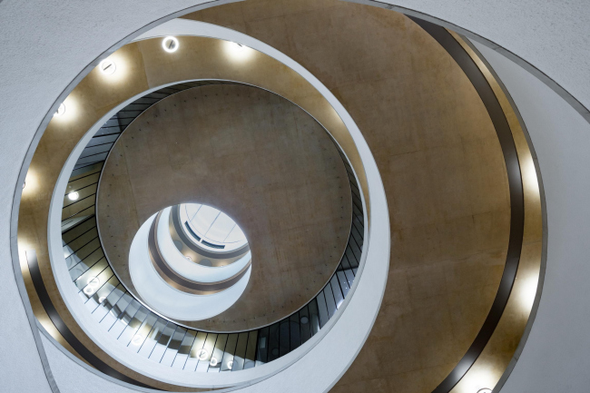 Школа управления имени Блаватника Оксфордского университета. Herzog & de Meuron © Iwan Baan