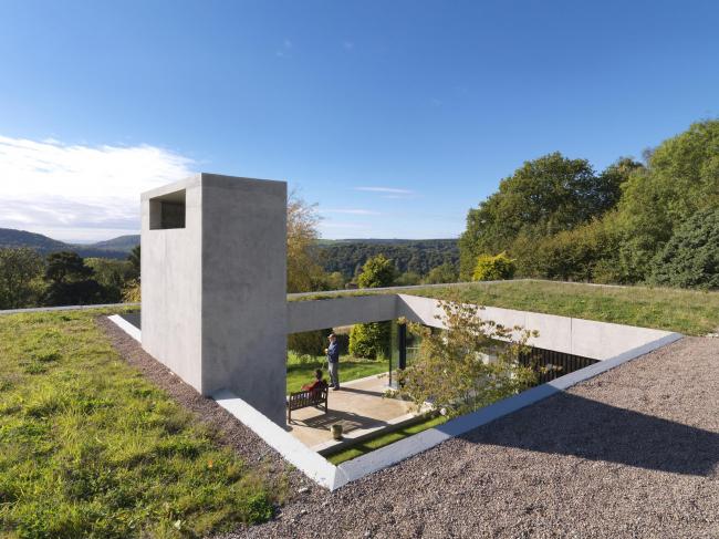 Дом Outhouse в Глостершире. Loyn & Co Architects © Charles Hosea