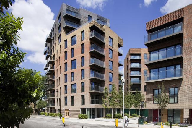 Жилой комплекс Trafalgar Place в Лондоне. dRMM Architects © Alex de Rijke