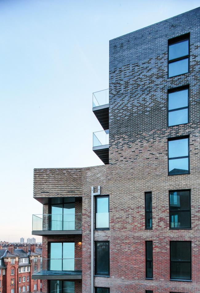 Жилой комплекс Trafalgar Place в Лондоне. dRMM Architects © Daniel Romero