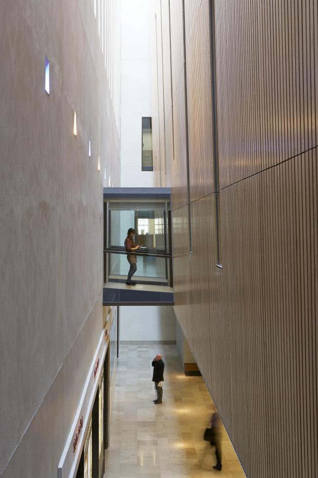 Библиотека Уэстона Оксфордского университета. WilkinsonEyre © James Brittain