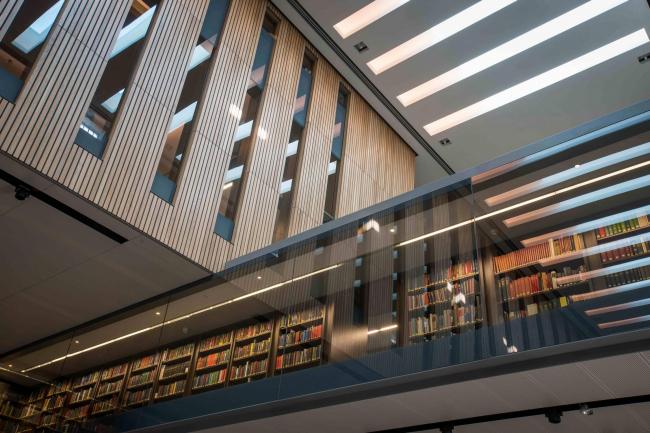 Библиотека Уэстона Оксфордского университета. WilkinsonEyre © John Cairns
