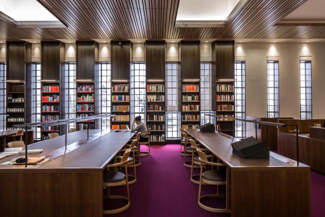 Библиотека Уэстона Оксфордского университета. WilkinsonEyre © Will Pryce