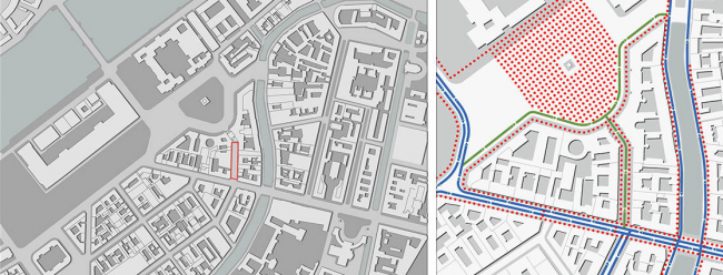 Концепция благоустройства Большой Морской улицы. Авторы: архитектурное бюро «Хвоя»