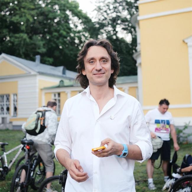 Сергей Никитин, историк, организатор международного проекта «Велоночь» в усадьбе Братцево. Велоночь, 16-17 июля, Москва