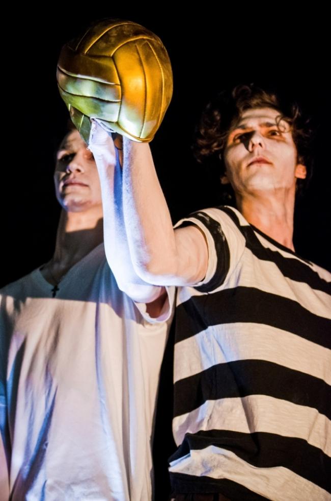 Живой памятник Льву Яшину «Золотой мяч». Велоночь, 16-17 июля, Москва