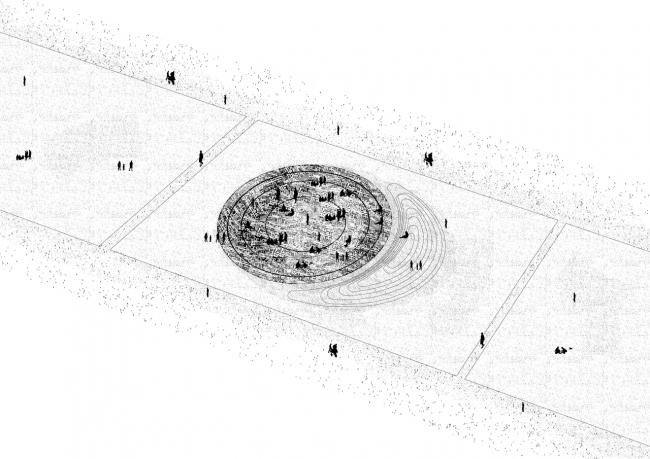 Проект «Черное  и белое». Автор: Мусса Белкацем © Международный конкурс «Павильон мира». Париж, 2016