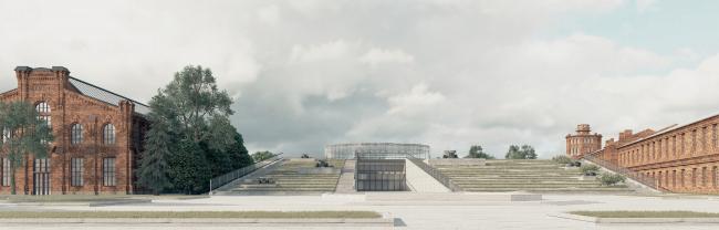 Дипломная работа Полины Дончевской. Многофункциональный комплекс на территории бывшего оружейного завода в Сестрорецке. 2016
