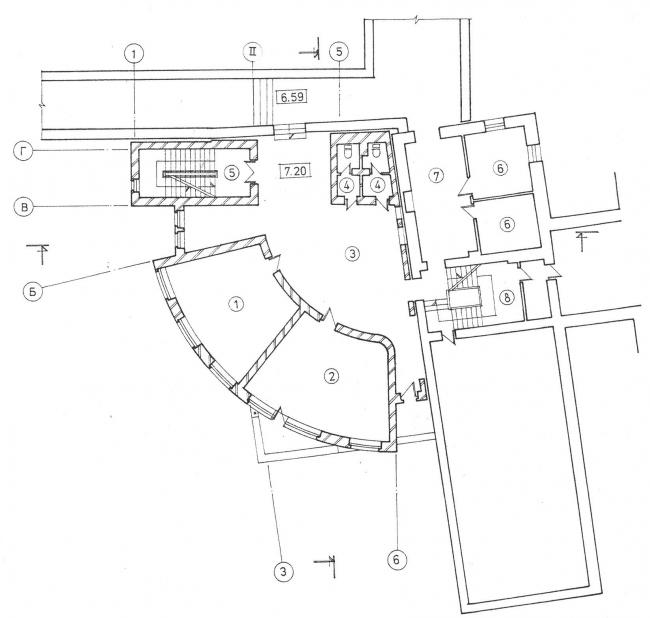 Реконструкция и пристройка к зданию школы, Вспольный пер. © Архитектурное бюро Асадова