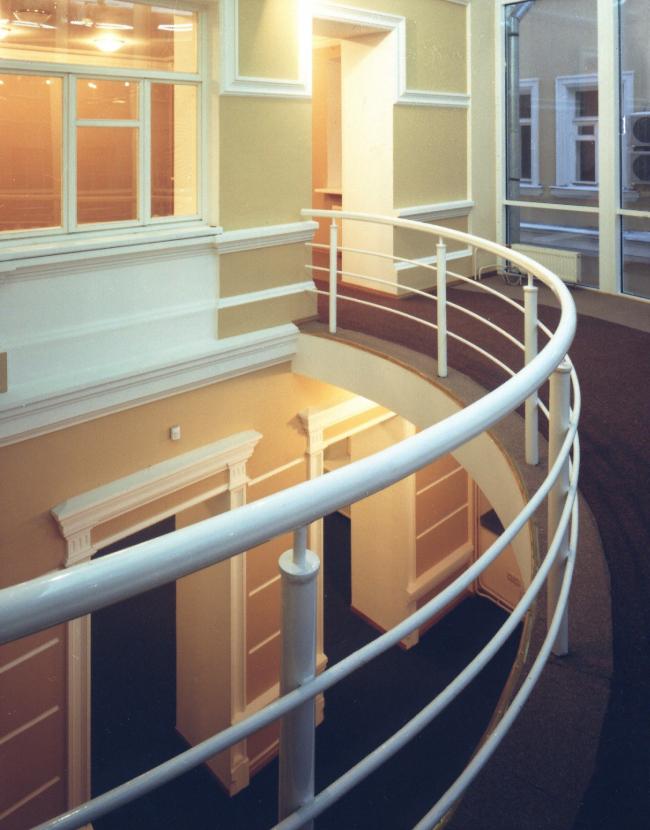 Реконструкция и пристройка к зданию библиотеки, Бобров пер. © Архитектурное бюро Асадова