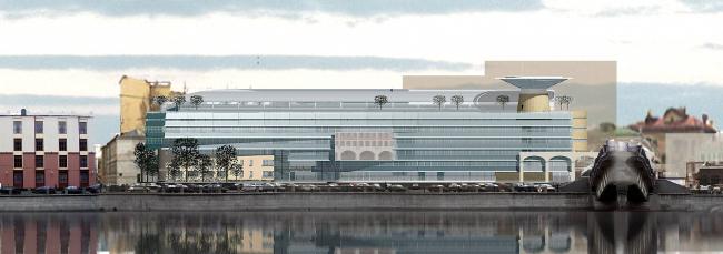 Шведский королевский центр страховой медицины, Шлюзовая наб. © Архитектурное бюро Асадова