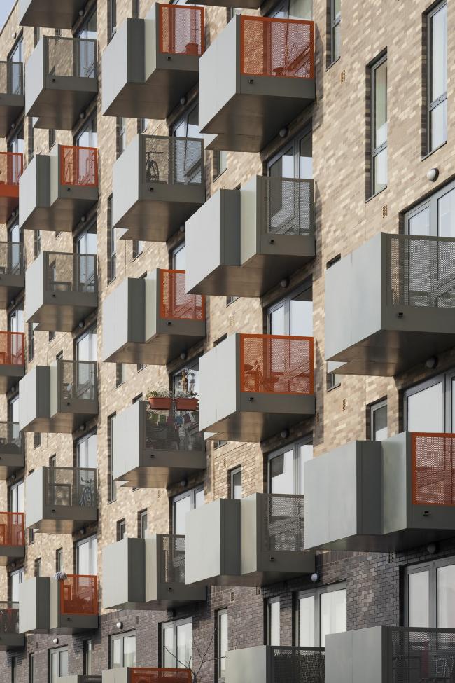 Жилой комплекс Ocean Estate в Лондоне. Фото: Matt Clayton. Предоставлено компанией Hagemeister