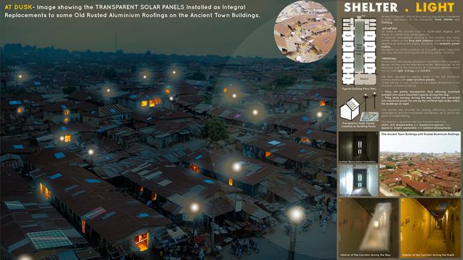 """Африка: проект """"Убежище света"""", Фатаи Осундижи, Эммануэль Ойолото. Изображение предоставлено компанией VELUX"""