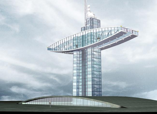 Монумент энергетиков, г. Излучинск © Архитектурное бюро Асадова
