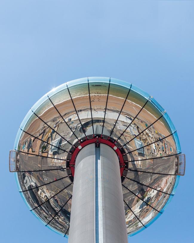Смотровая башня i360 в Брайтоне, Великобритания © British Airways i360
