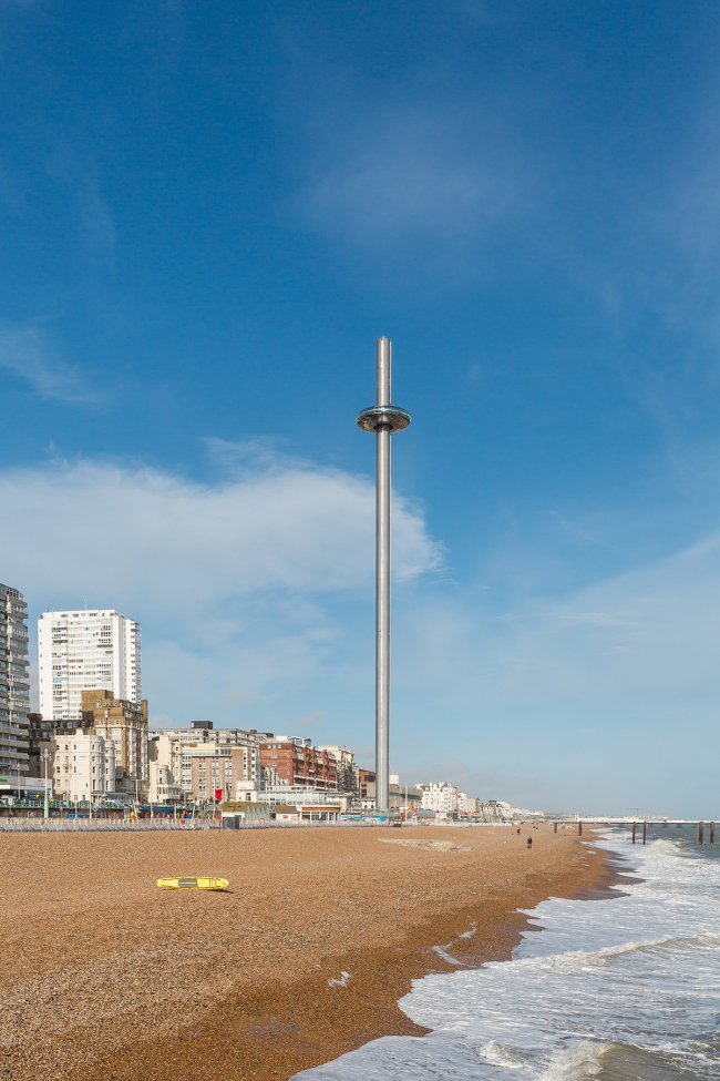 Смотровая башня i360 в Брайтоне, Великобритания © British Airways i360